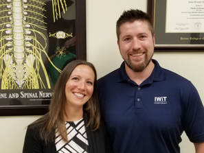 The chiropractors at Pinnacle Chiropractic & Wellness in Fishers, Indiana.